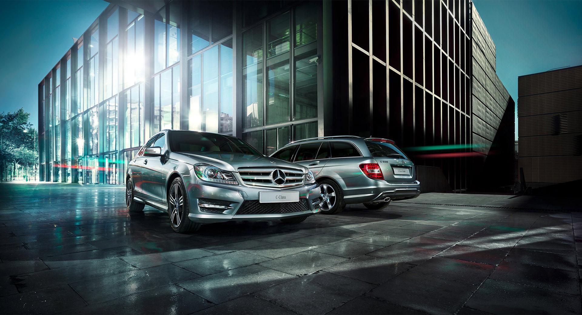 Mercedes-Benz C-Klasse, JvM, anke luckmann, www.ankeluckmann.com, kai tietz, gloss, c class, silver, architecture, business, range
