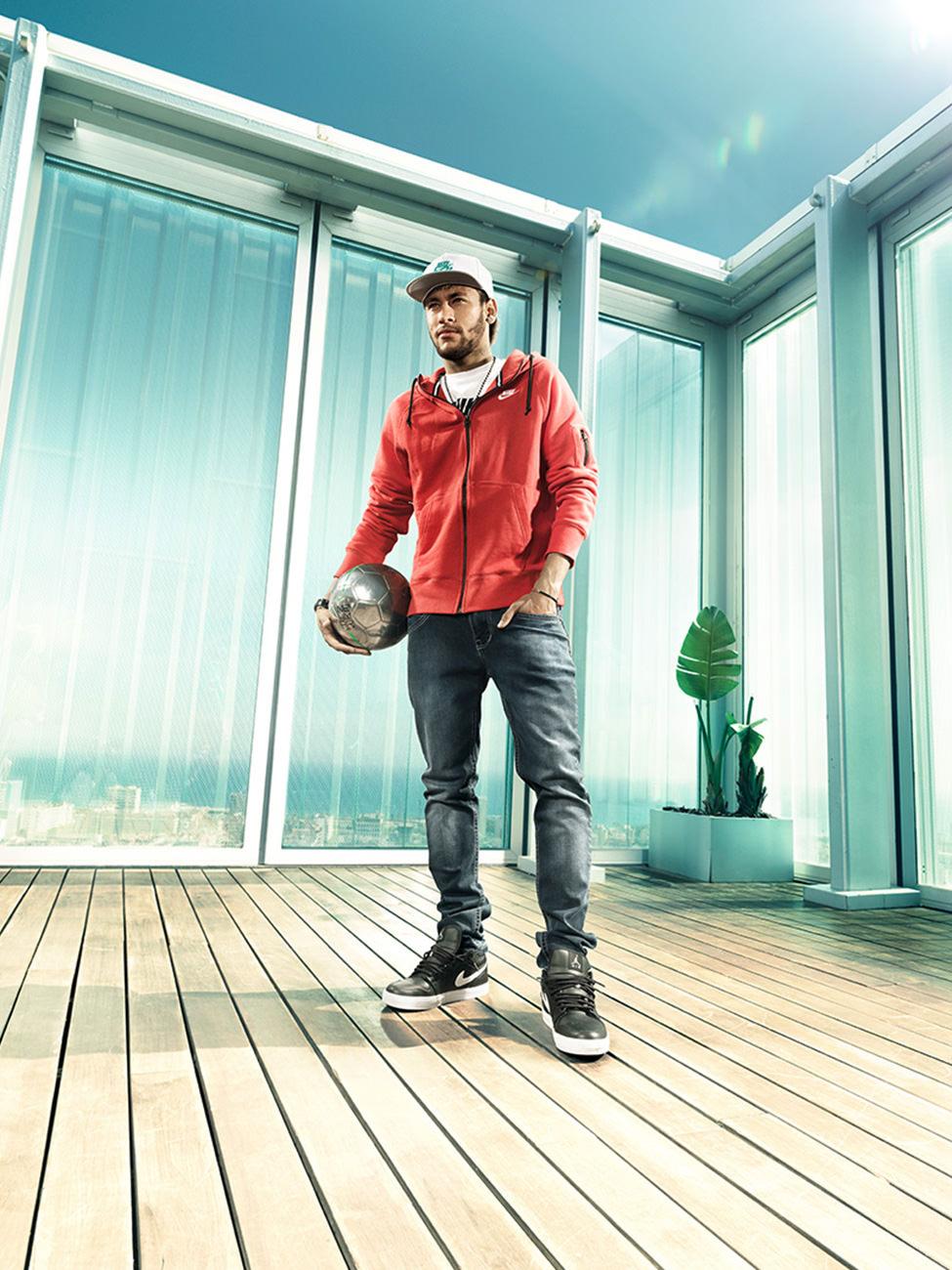 Neymar Jr, klab, anke luckmann, www.ankeluckmann.com, advertising, portrait, football, neymar, fantastic eleven