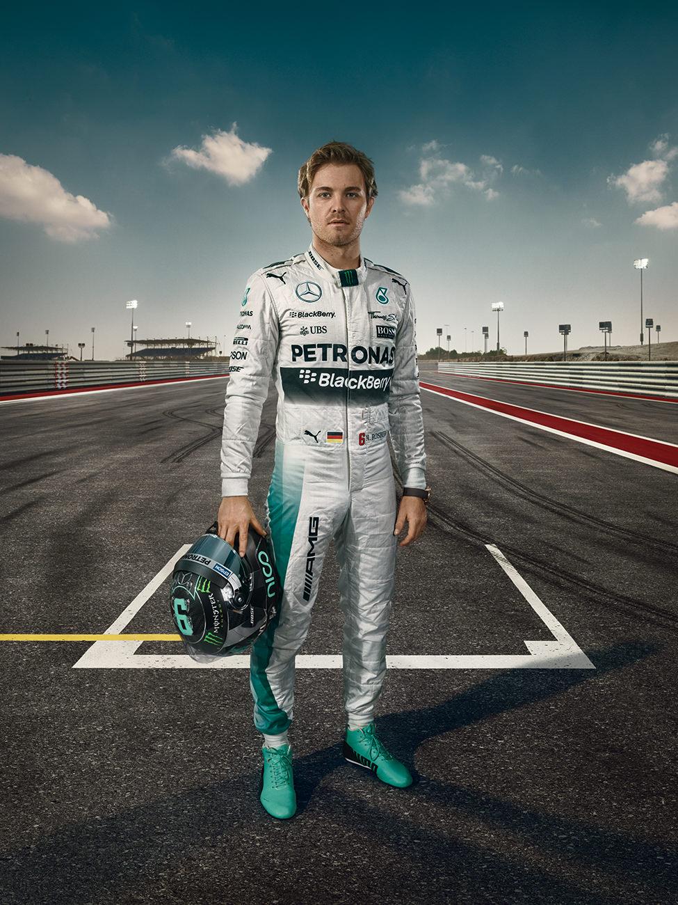 MB AMG F1 Autogrammkarten, Nico Rosberg