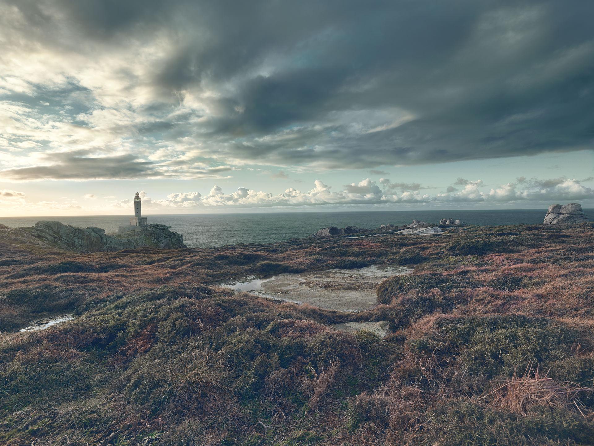 ©ankeluckmann1720, coast, galicia, green, landscape, rocks, spain, anke luckmann, www.ankeluckmann.com, lighthouse