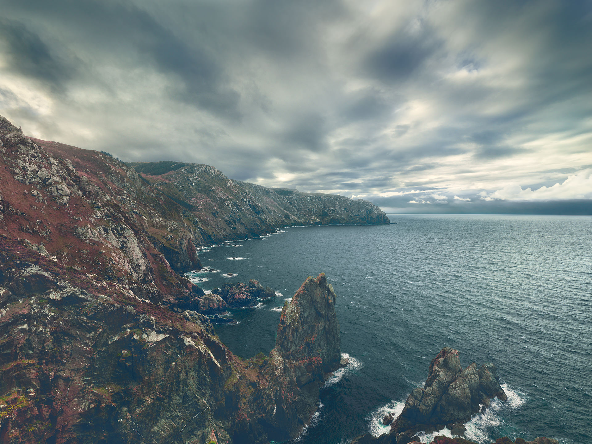 ©ankeluckmann1726, coast, galicia, green, landscape, rocks, spain, anke luckmann, www.ankeluckmann.com
