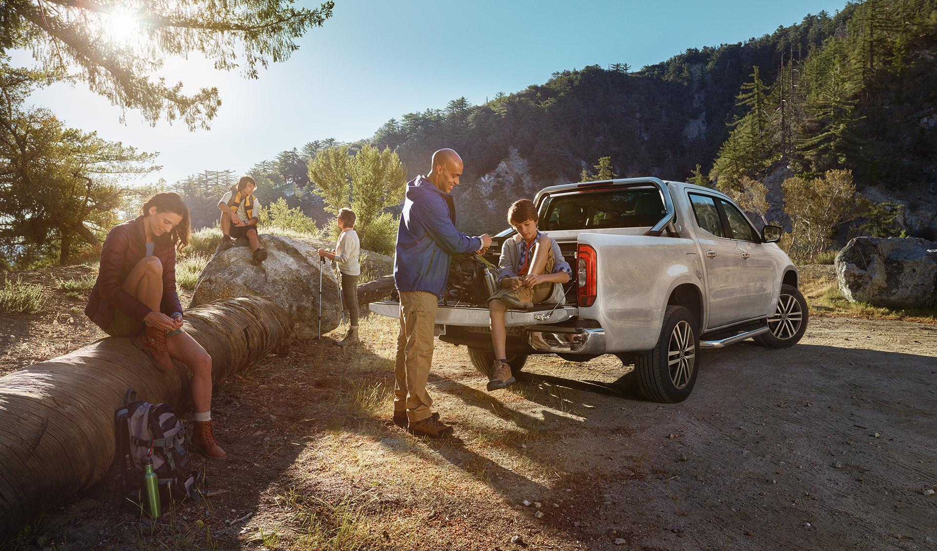 ©ankeluckmann1862p, Mercedes Benz X-Klasse, Anke Luckmann, ©ankeluckmann, campaign, LLR, kai tietz, www.ankeluckmann.com, recom, family, mountain,
