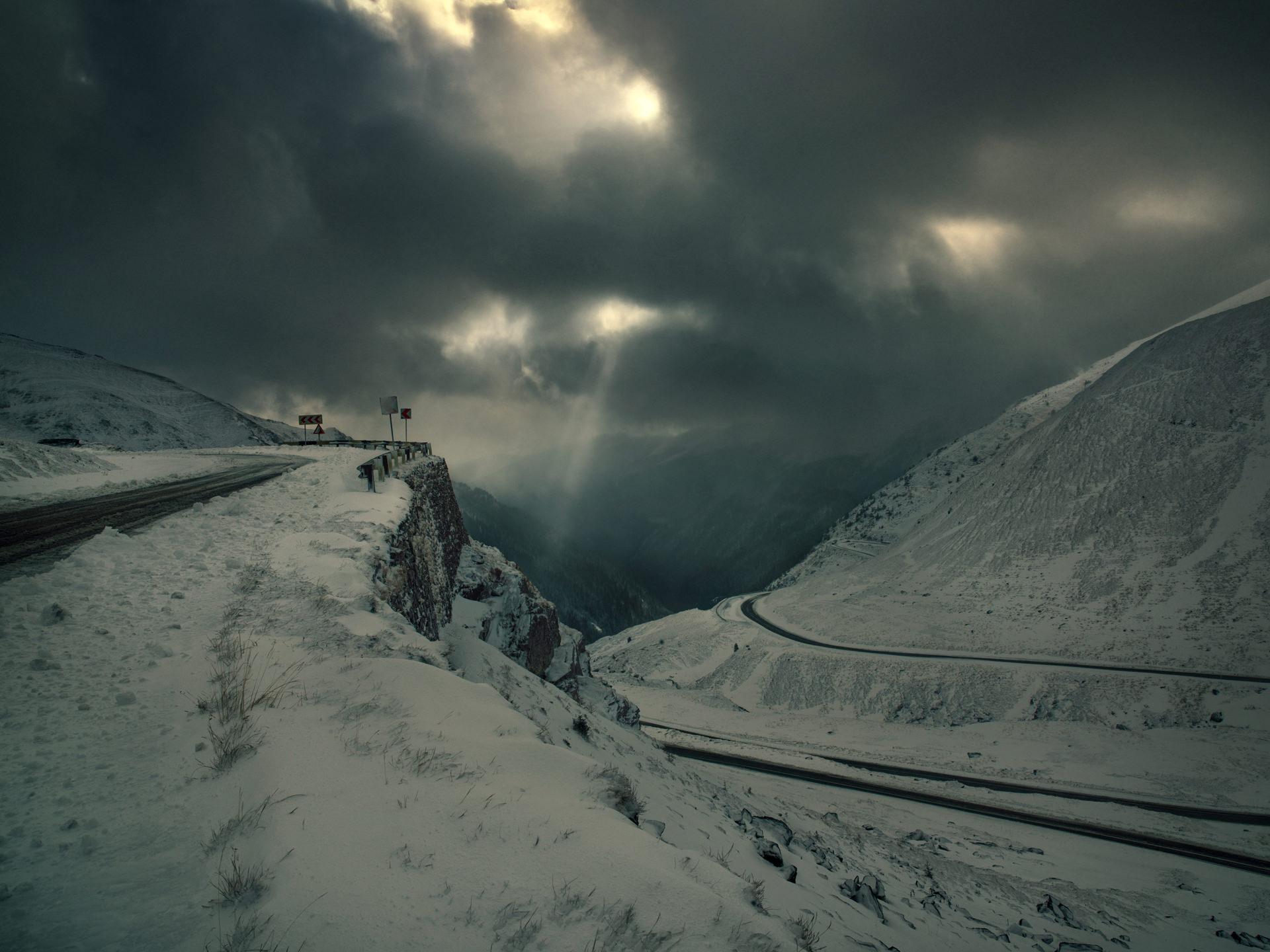 landscape, anke luckmann, romania, mountains, www.ankeluckmann.com, snow
