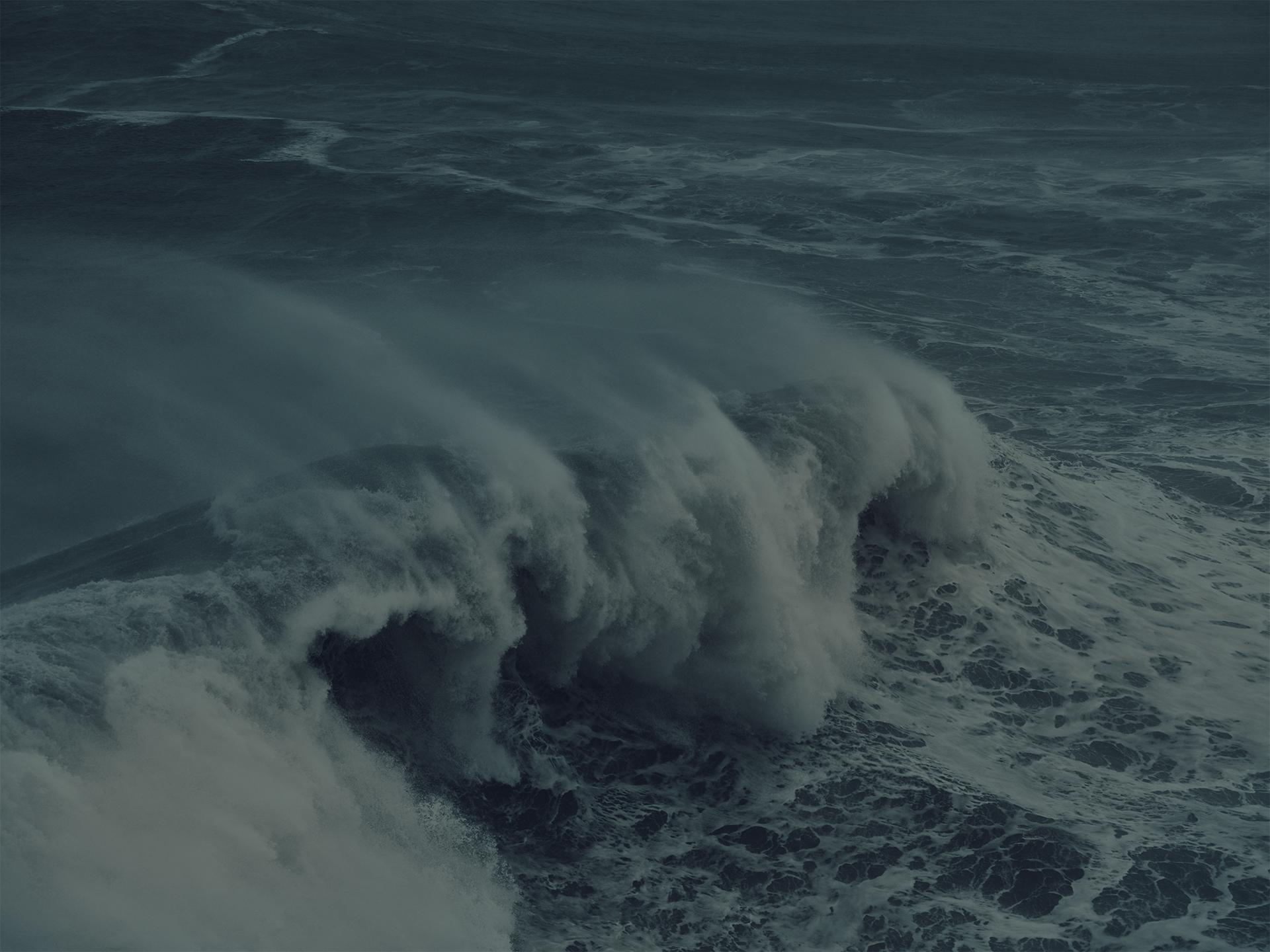 wellen, waves, landscape, water, sea, anke luckmann, nazare, portugal