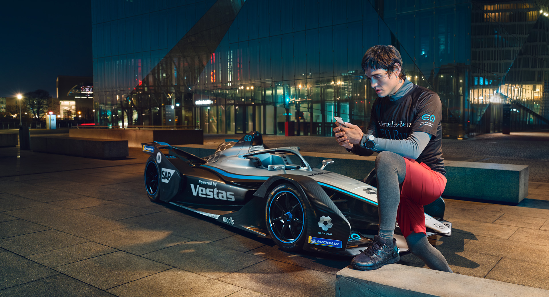 Mercedez-Benz Formula E