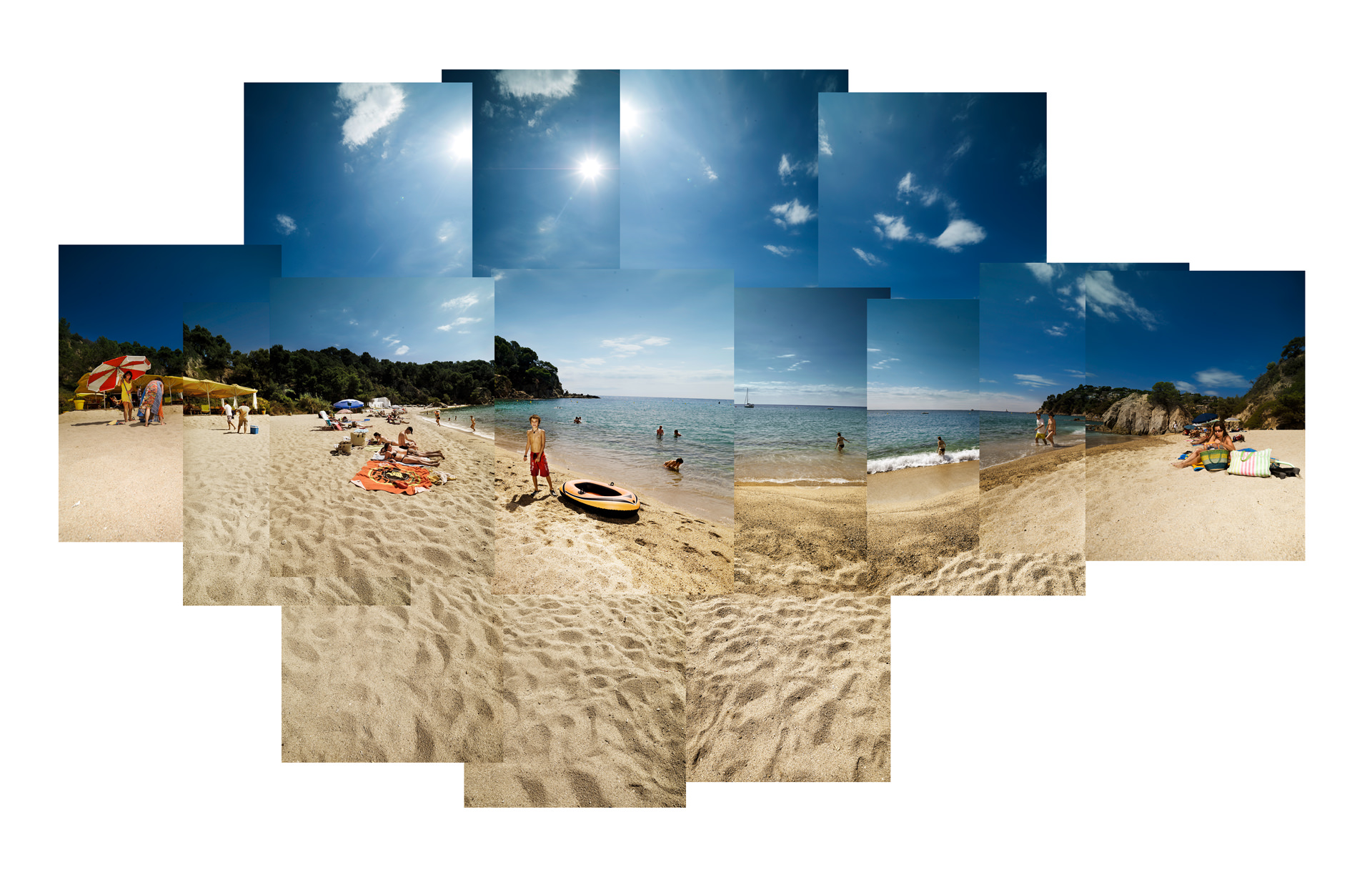©ankeluckmann639, ADAC, Reisemagazin, beach, spain, costa brava, people, landscape