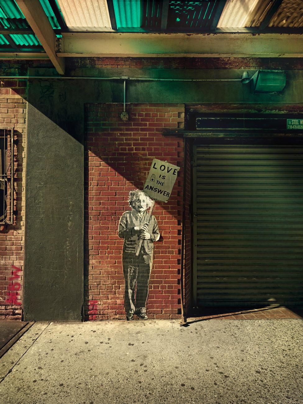 nyc, people, street, new york, portrait, urban, wall, anke luckmann, www.ankeluckmann.com