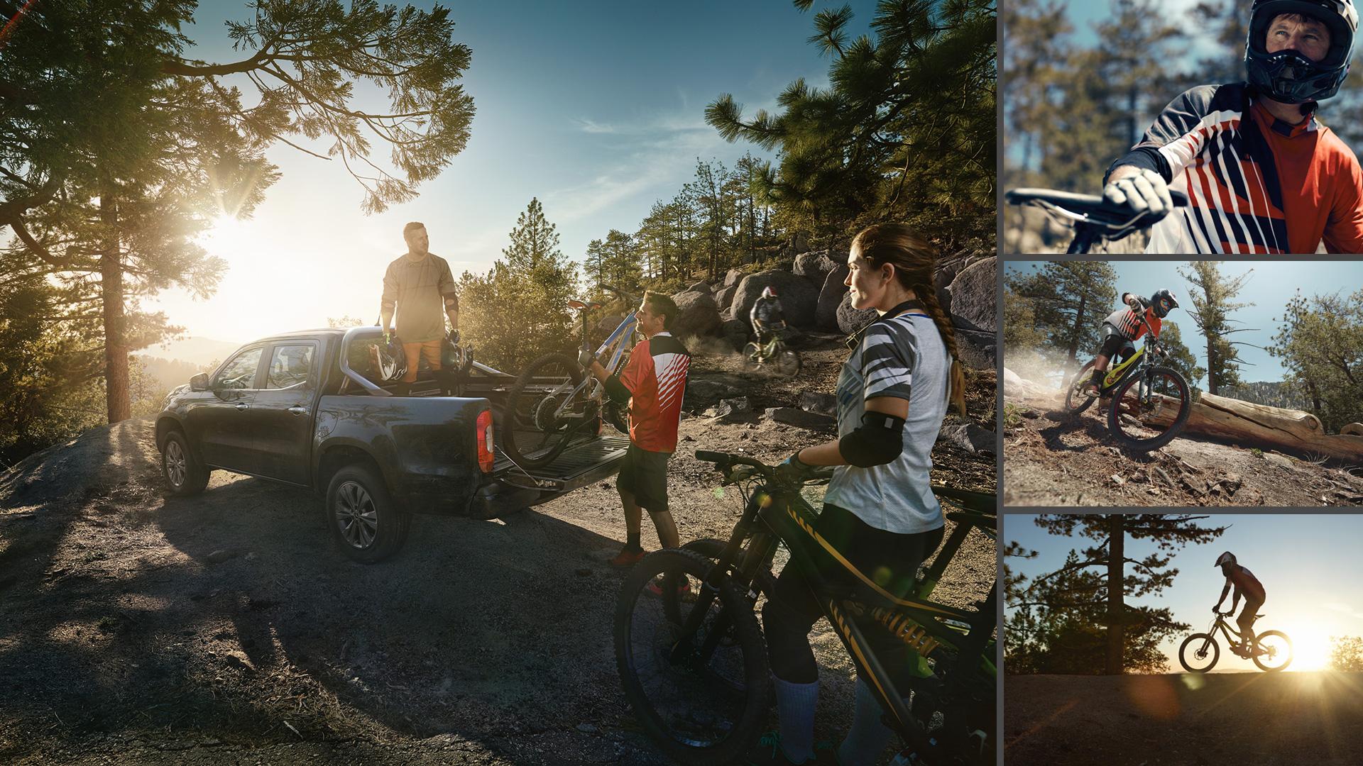 ©ankeluckmann x downhill, Mercedes Benz X-Klasse, Anke Luckmann, ©ankeluckmann, campaign, LLR, kai tietz, www.ankeluckmann.com, recom, friends